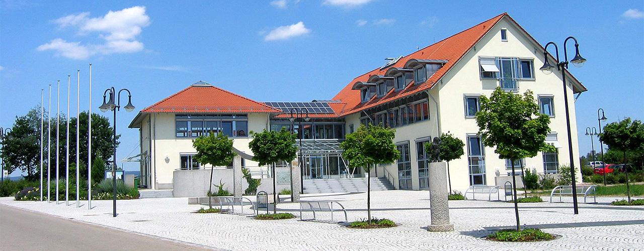 Das Rathaus in Speichersdorf