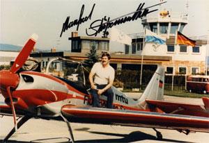 Pilot Manfred Strößenreuther