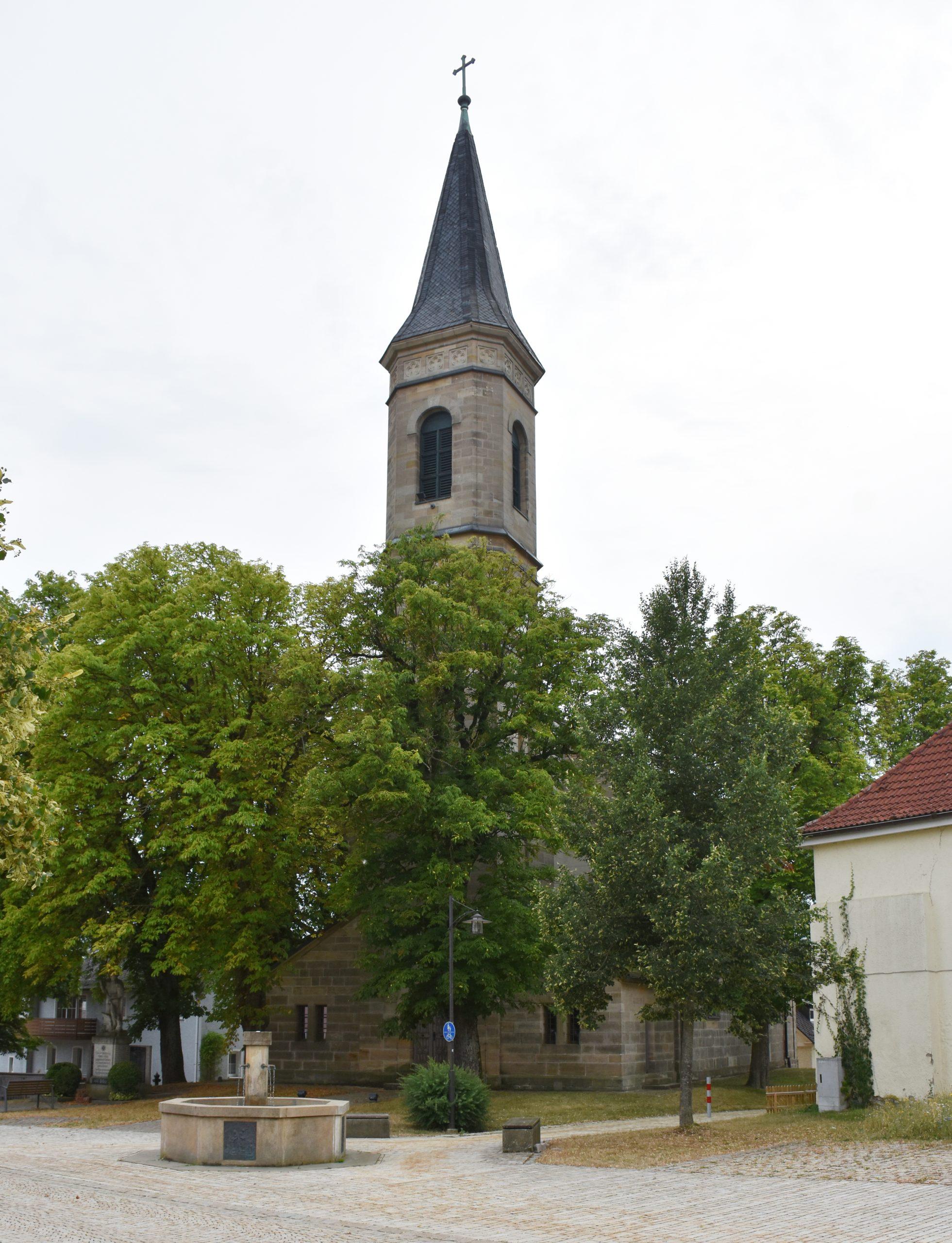St. Ägidius Kirche Kirchenlaibach