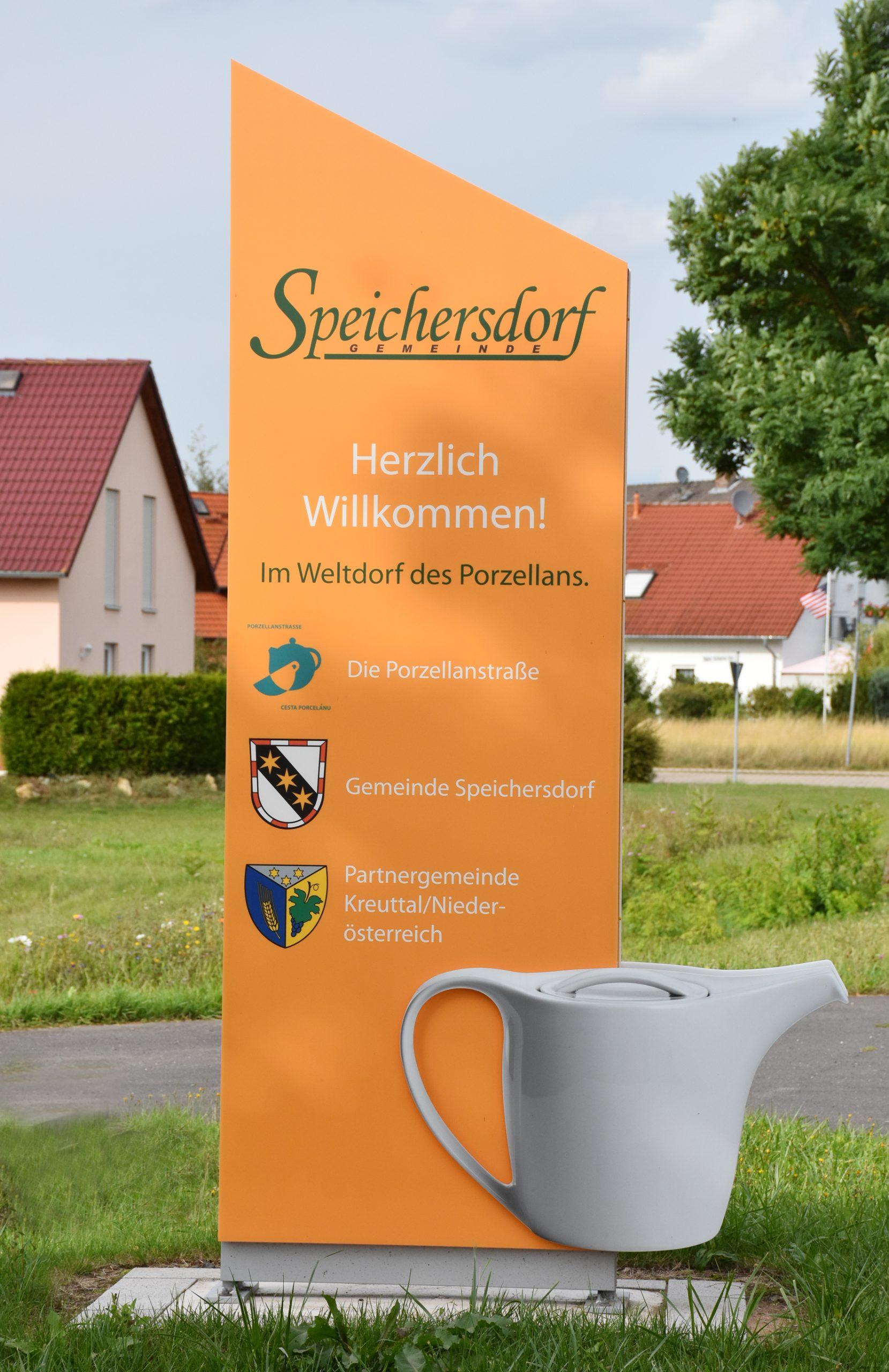 Porzellanstraße Speichersdorf