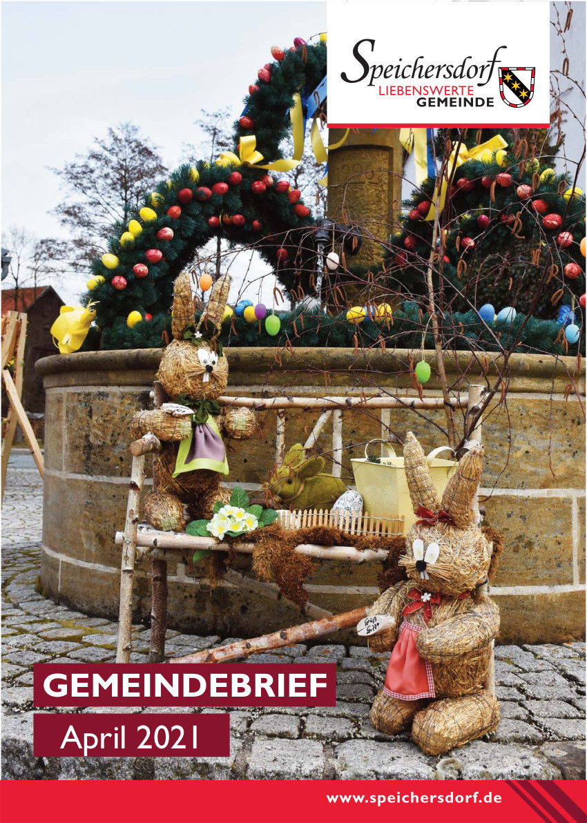 Gemeindebrief April Cover