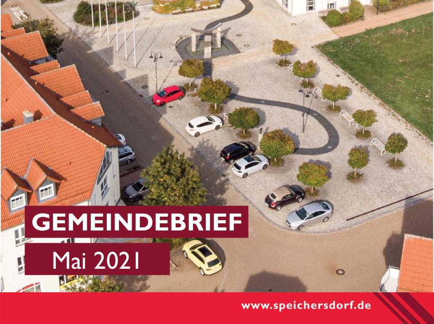 Cover des Gemeindebriefs Mai 2021