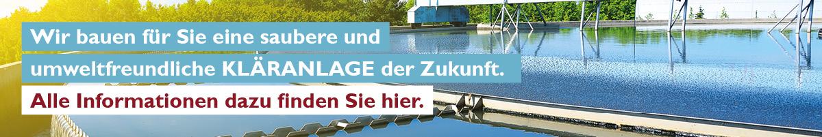 Banner Kläranlage