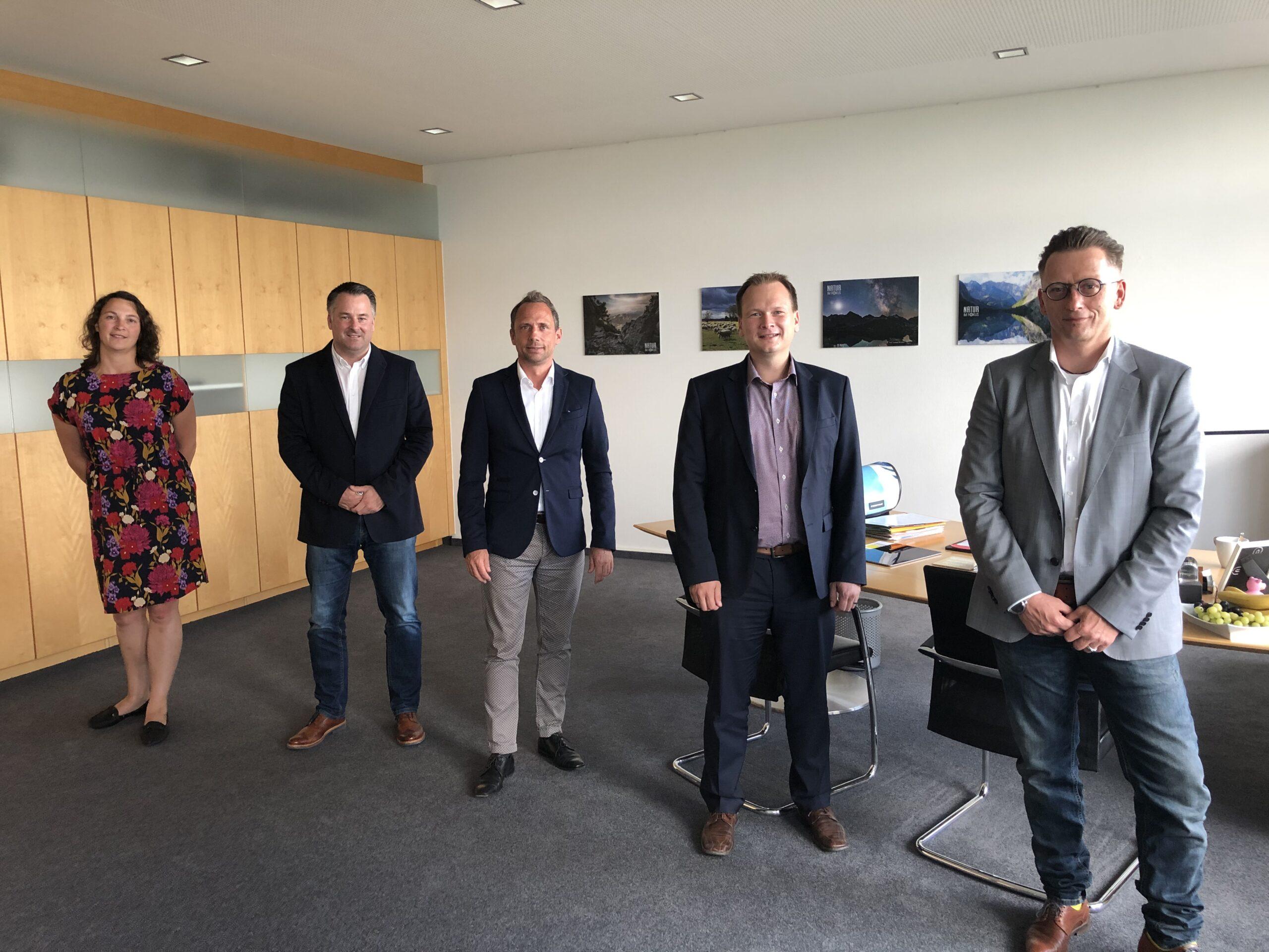 Besuch bei Staatsminister Thorsten Glauber