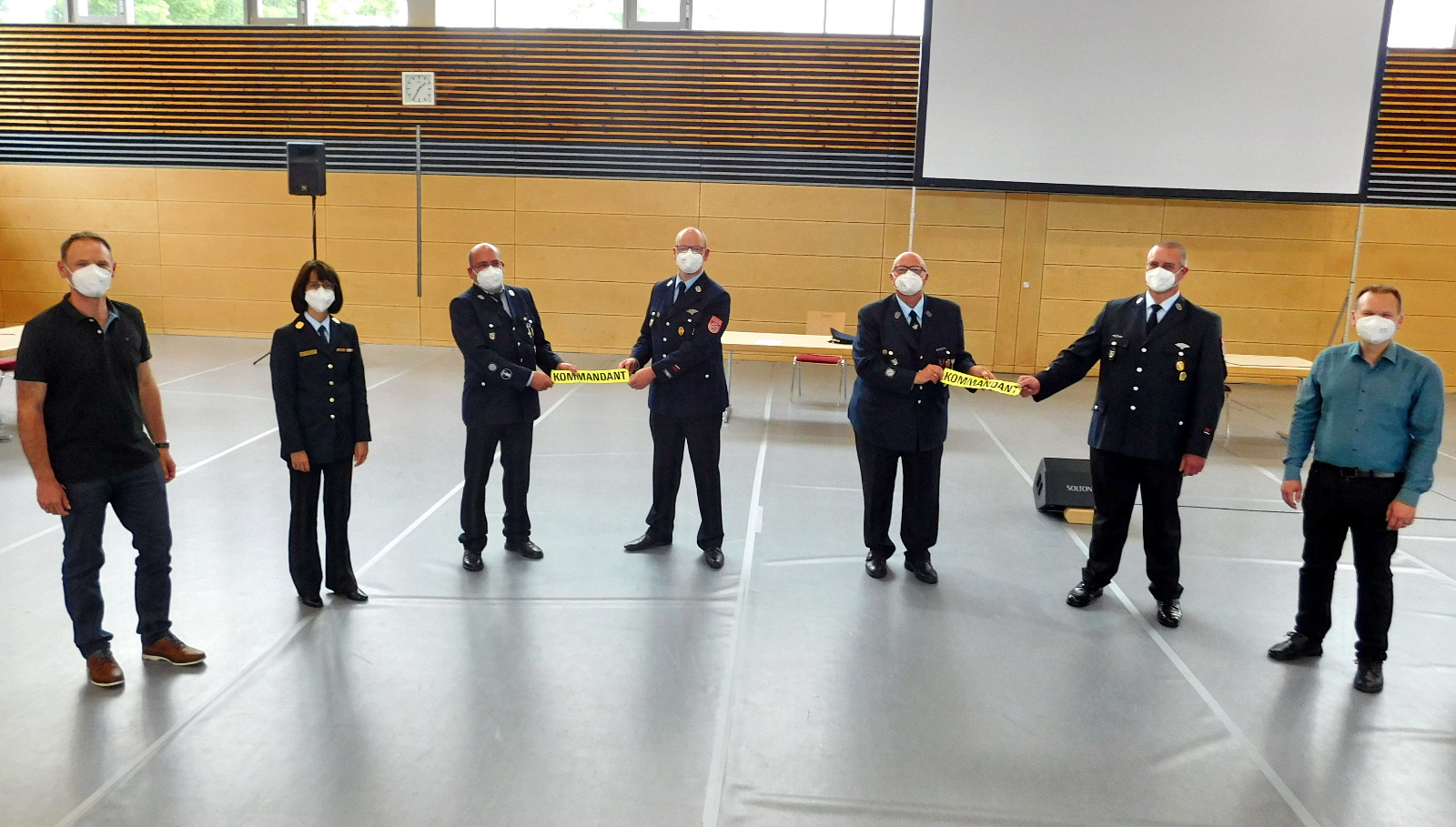 Führungswechsel bei der Feuerwehr Kirchenlaibach