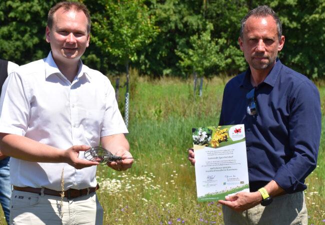 Auszeichnung Biodiversität